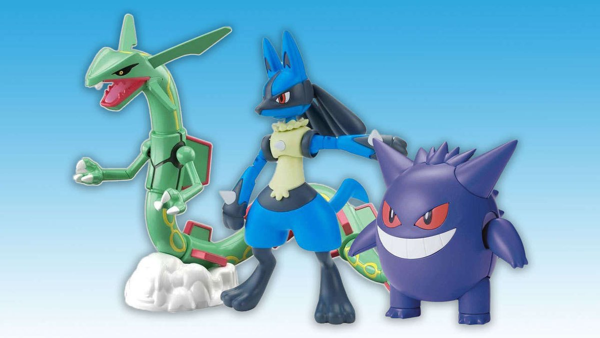 Pokemon Model Kits Available For Pre-Order At Amazon https://t.co/ZuNo2h7ECe | https://t.co/9AaTTqXITl #gaming #news https://t.co/84K0yemlTZ