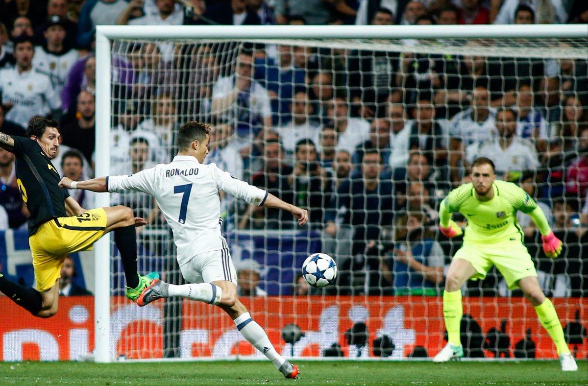 Name a better love story than Cristiano Ronaldo x Atletico Madrid. 🤩🐐