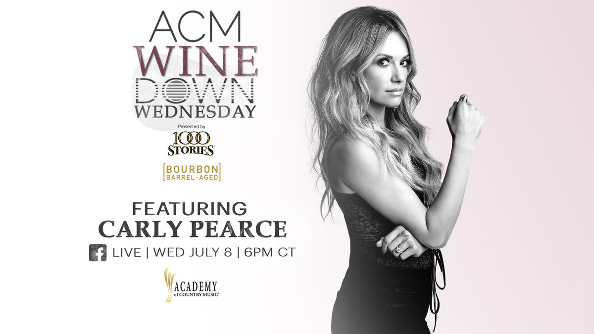 .@acmawards asked the right girl to kick off their #winedownwednesday happy hour. Join me this Wednesday at 6PM CT on Facebook for some songs and 1000 Stories Wine 🍷 https://t.co/0nAbHJursh https://t.co/p4FX9i8XDf