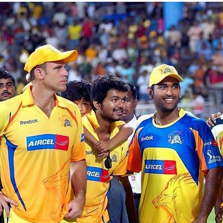 Happy Birthday to Our Dearest Only One  Thala #MSDhoni 😍😎 #KING 🔥  #Captaincool #csk #India @msdhoni #HappyBirthdayDhoni #mahendrasinghdhoni #HappyBirthdayMSDhoni #Dhoni ♥️  #HappyBirthdayMSD   #Master // @actorvijay https://t.co/Nr6wDTU79B