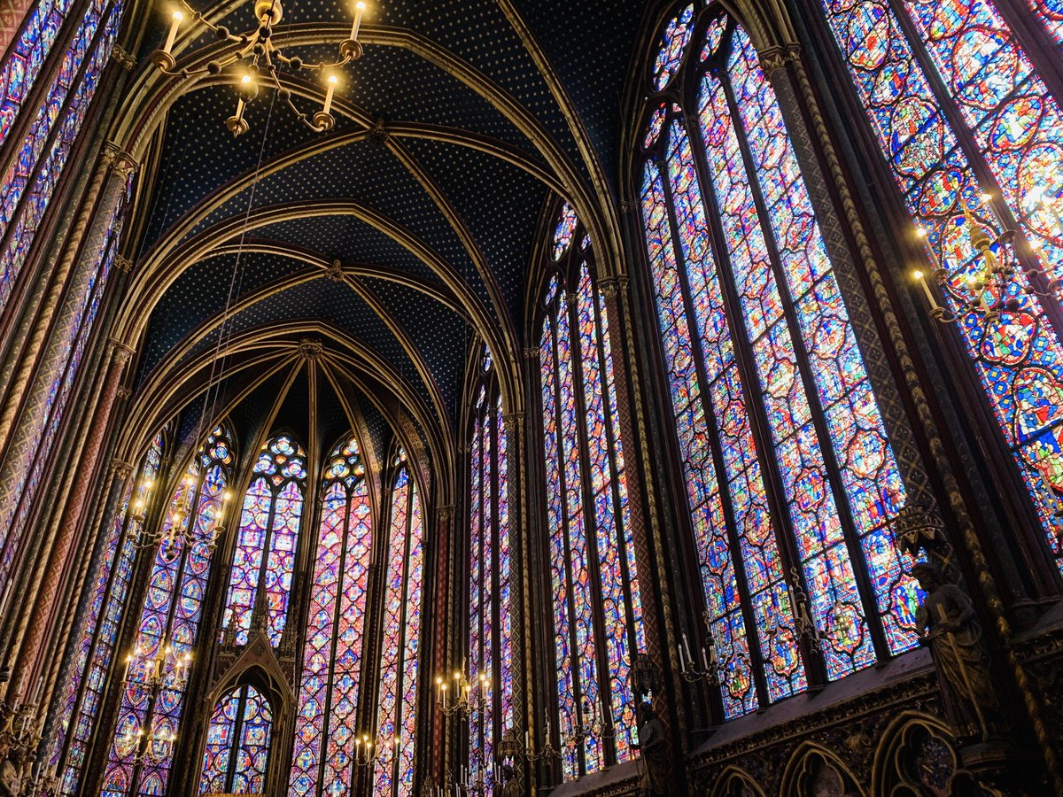 /u/phoenixdragon5: Sainte-Chapelle (1/2): the nearly full-length stained glass panes are absolutely stunning. One of my favorite places to experience Paris Médiéval during my time studying abroad last fall #travel #traveling #travelphotography #travelphoto #photo #exploring https://t.co/BZuO0onvr4