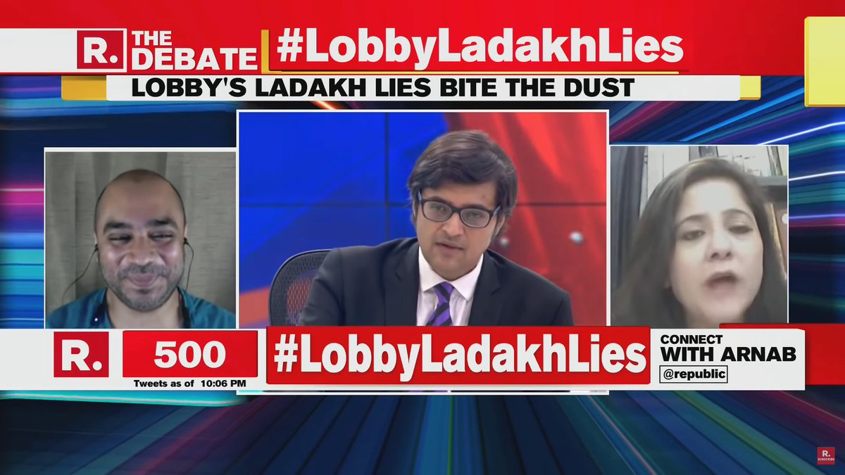 #Bharat #IndiaStandWithArmyAndModi #India  My day was lacking humour until I watched the Republic debate tonight. Honestly thought Arnab was going to fall off his chair laughing at one stage.  Watch the full debate here ➡️https://t.co/1g3tKldmqh https://t.co/FszHc912HO