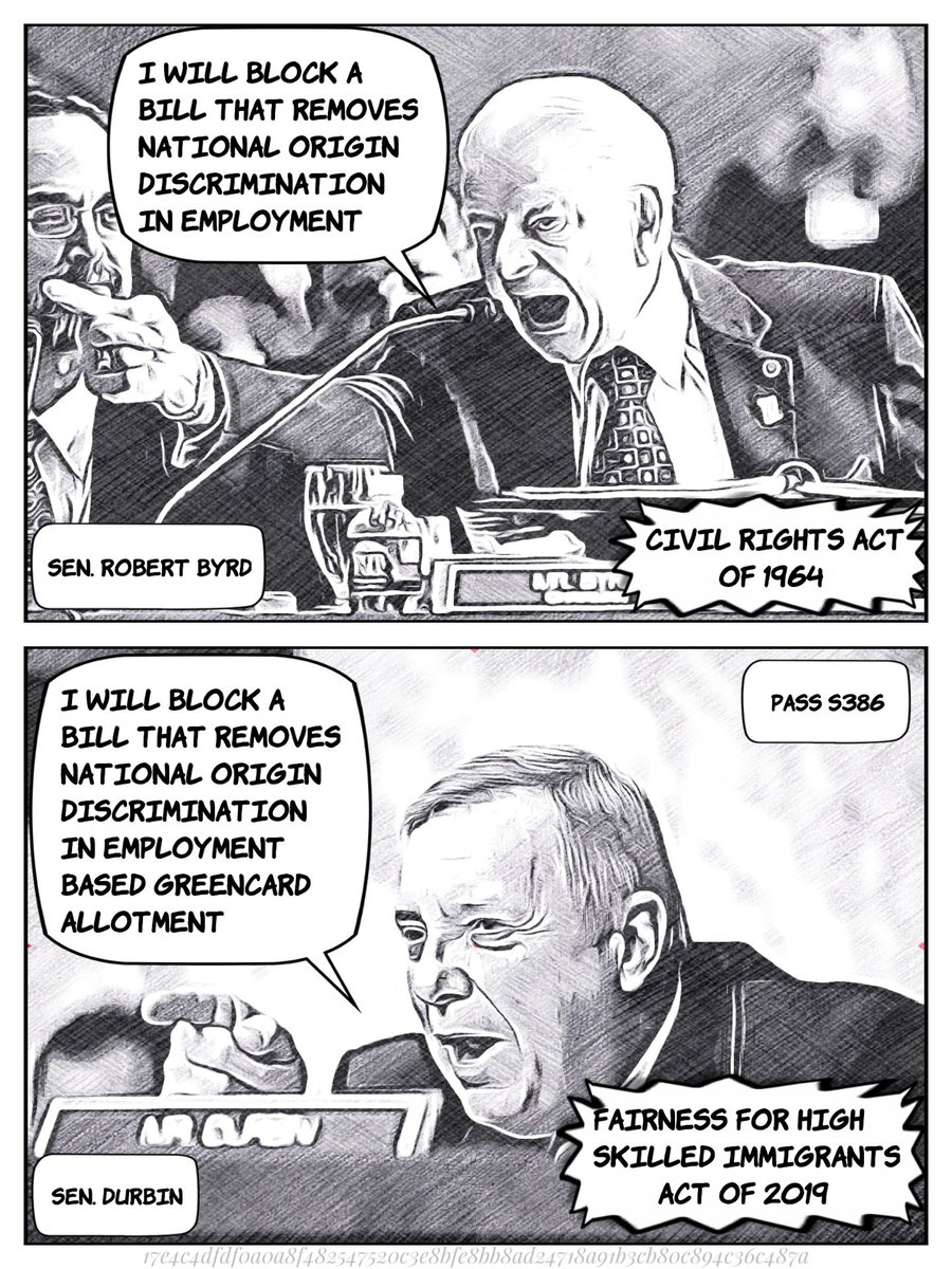 @SenatorDurbin, are you sure you want to have a similar legacy? #ThisIsHowWeFeel #ProveUsWrong #UnblockS386  #S386 #YesS386 #Equality @SenateDems  Concept by @rohitns and @meetkinjy  <br>http://pic.twitter.com/W8RoPWSXPM