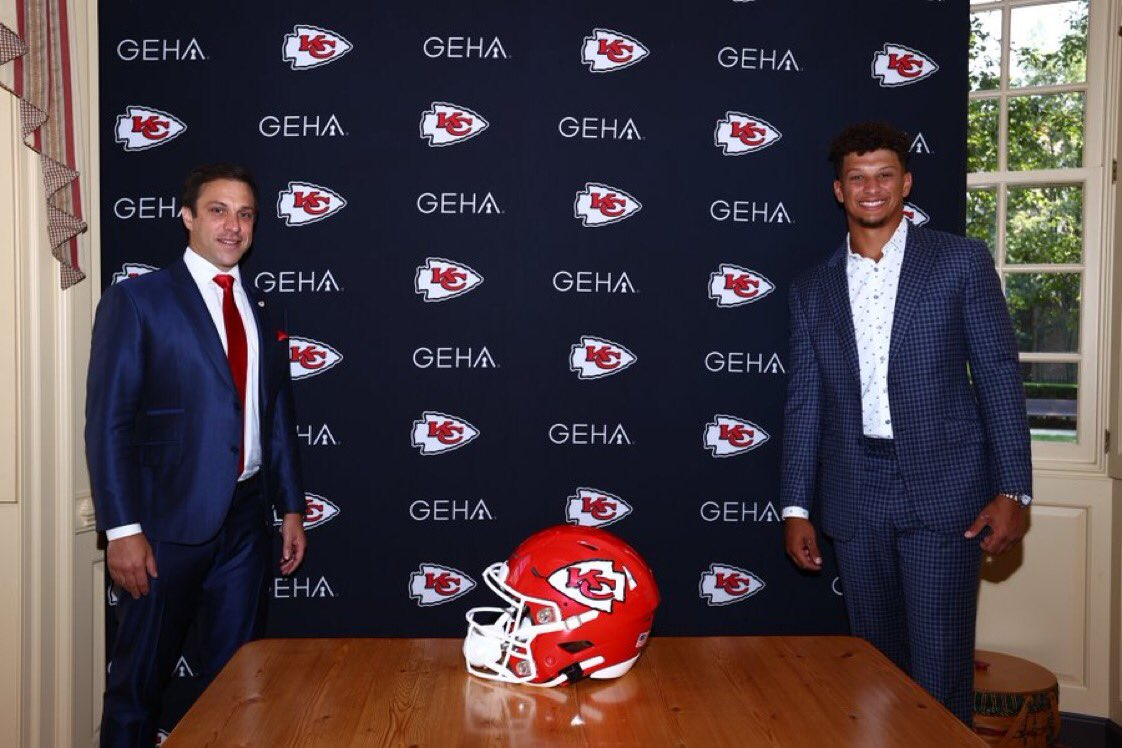 Official. (via @Chiefs)