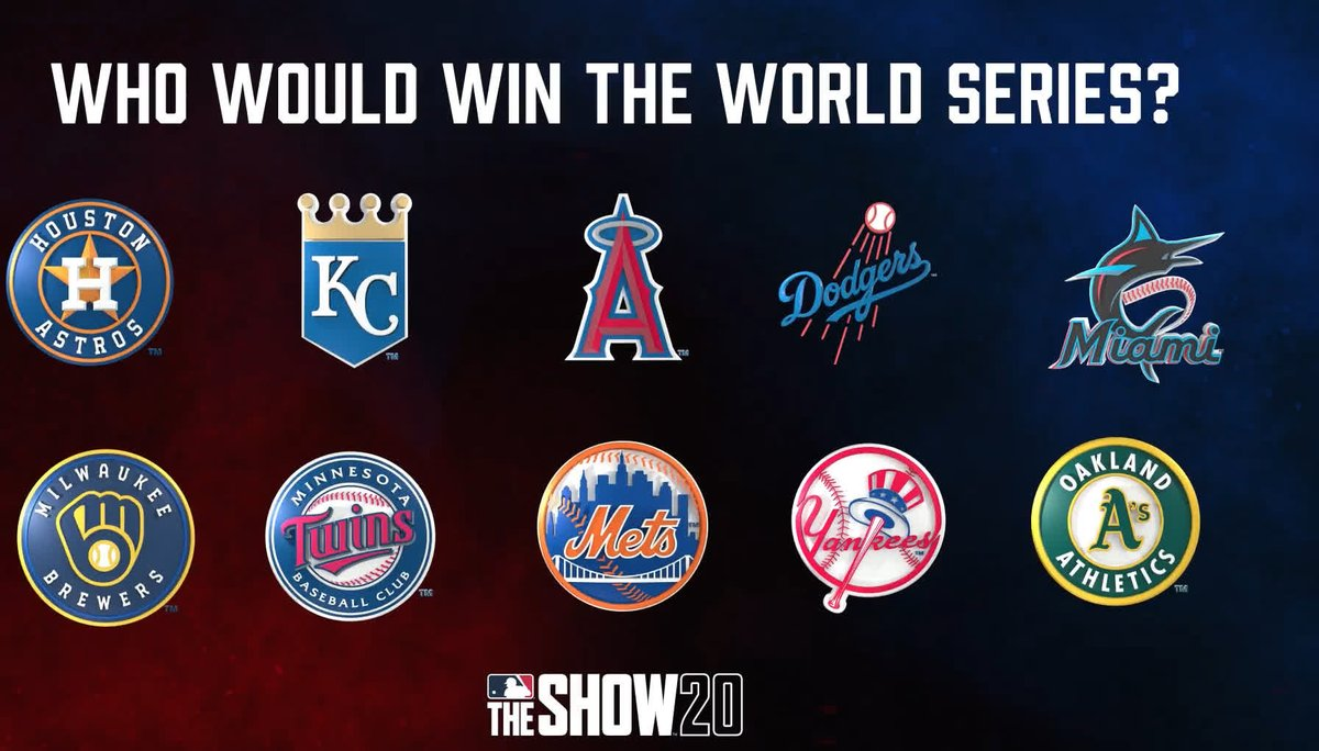 🧠2020 PREDICTIONS🧠 Who wins the #2020WorldSeries? Reply back with your pick!