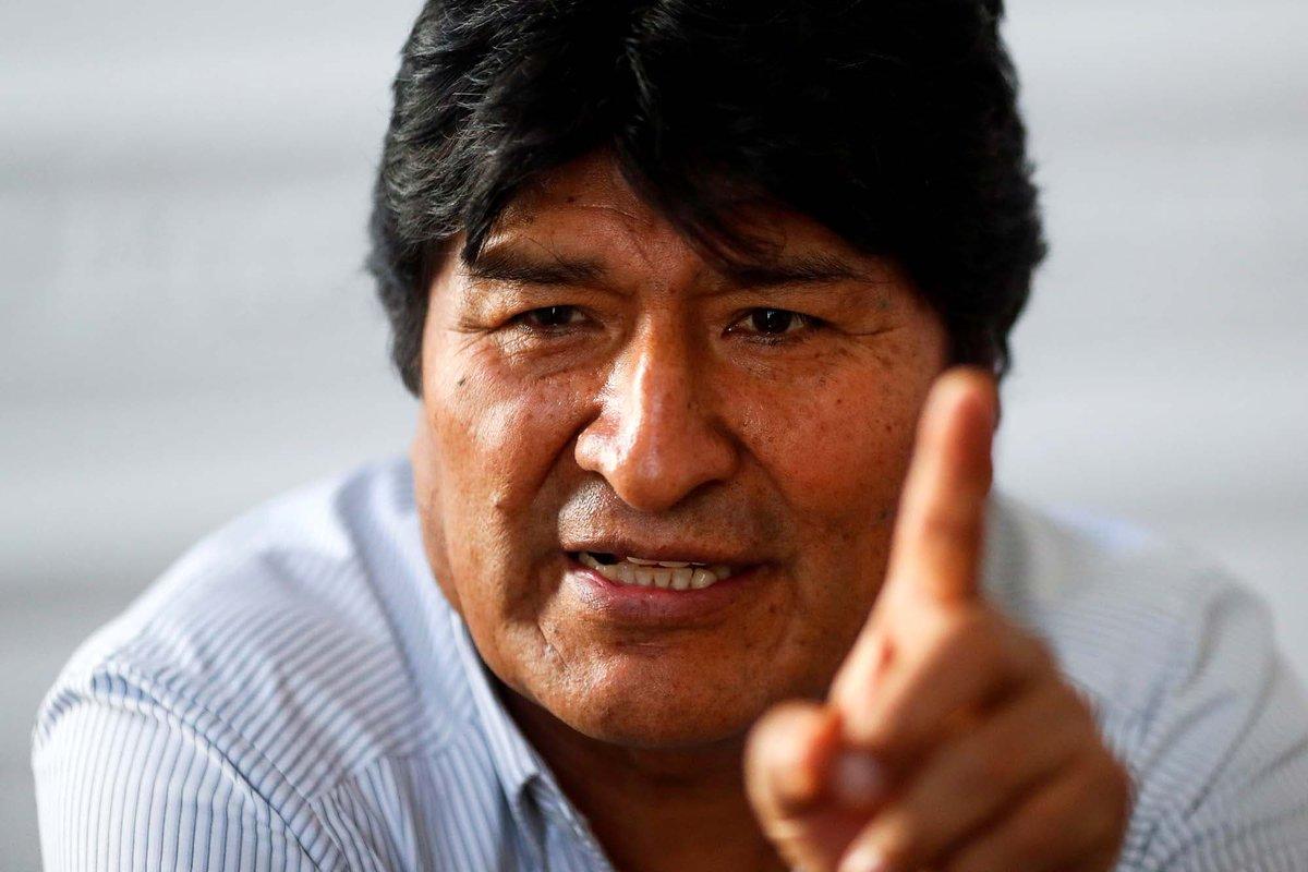 RT @LANACION: La Fiscalía de Bolivia acusa a Evo Morales de terrorismo y pide su detención https://t.co/rdgB6rphxD https://t.co/VupQjPHosw
