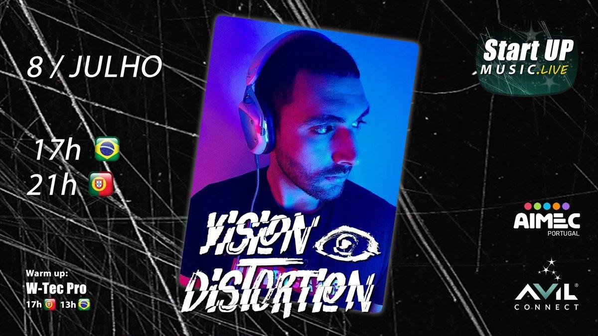 :: Próxima LIVE :: DJ Vision Distortion (Big Room) • 8 JUL • PT 21h / BR 17h • https://startupmusic.live/dj-vision-distortion-8-jul-2020.html…  #dj #live #streaming #livestreaming #djset  #live #livestream #startupmusiclive #avilconnect #transmissãoaovivo #djlife #djlifestyle #electronicmusic #StayTunedpic.twitter.com/tfn58ewD8p