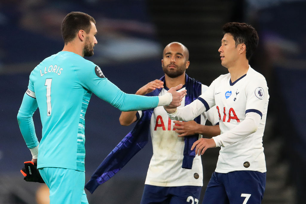 Tottenham manager Jose Mourinho says the half-time clash between goalkeeper Hugo Lloris and forward Son Heung-min was beautiful More: bbc.in/2DhBxUj