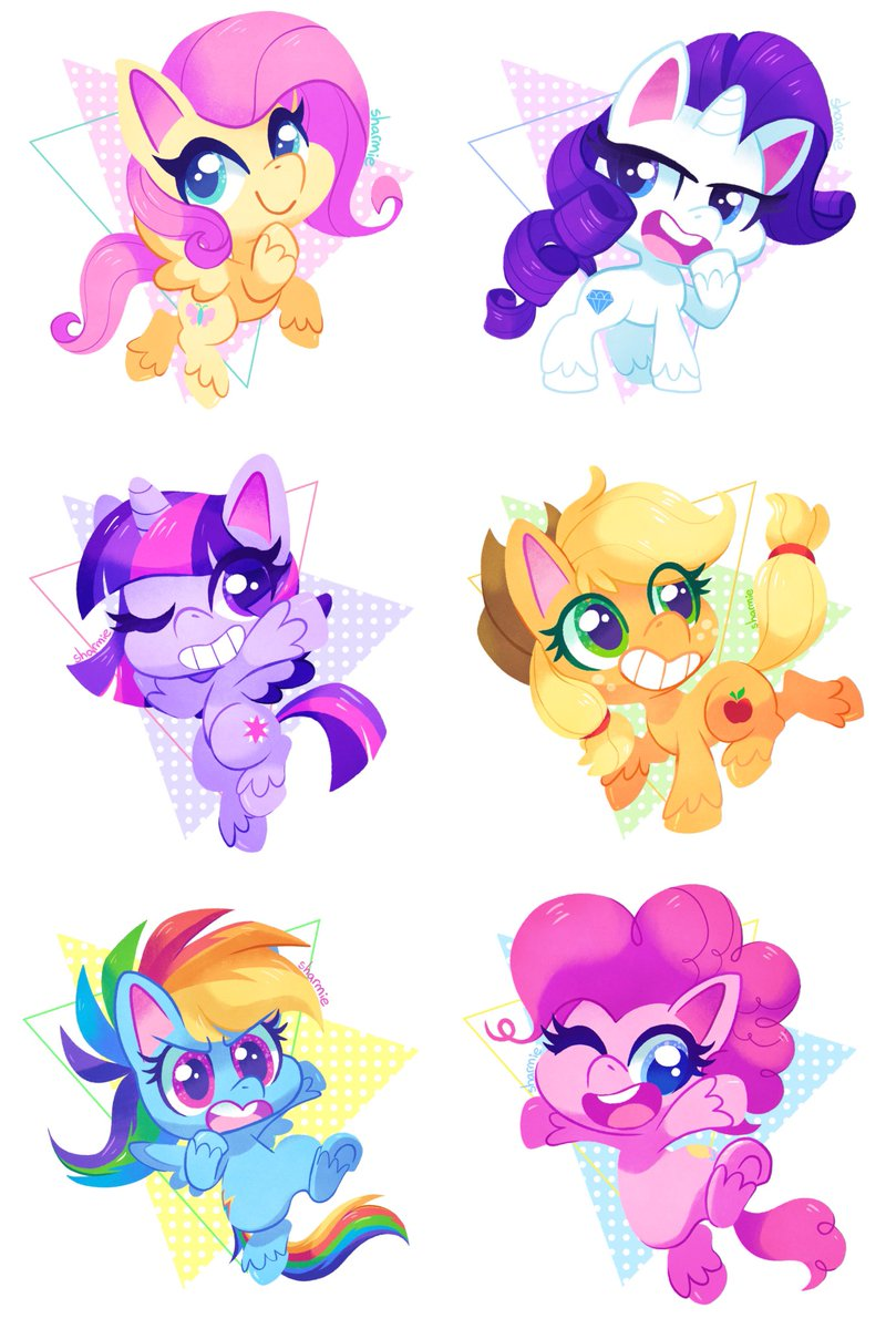 All together!   Available as shirts and more on my Redbubble and Teepublichttp://sharmie.redbubble.com http://teepublic.com/user/sharmie  #mlp #mylittlepony #ponylife #fluttershy #rarity #applejack #pinkiepie #twilightsparkle #rainbowdashpic.twitter.com/F9p3aFwhEq