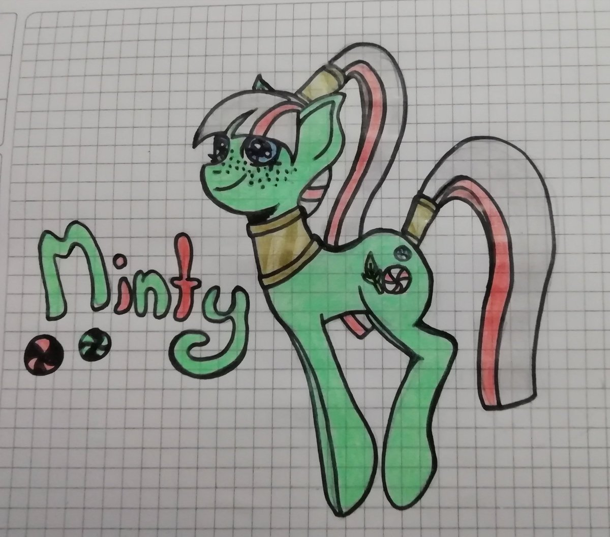 Redesign of Minty of the original six from #mylittlepony of the G1 (Also I took a little of her design in G3) #pony #artpic.twitter.com/F7LIRR7P2x