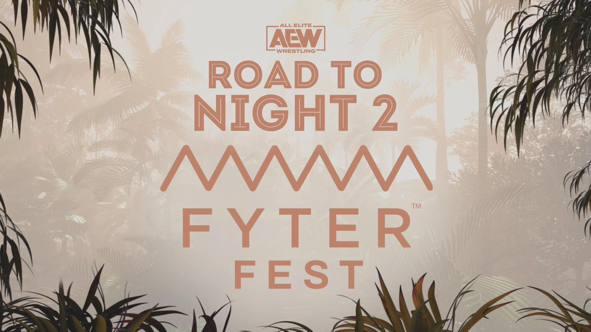 WATCH Road to Night Two of Fyter Fest via our official YouTube channel via the link here ➡️ youtu.be/7DD9u8x19ws