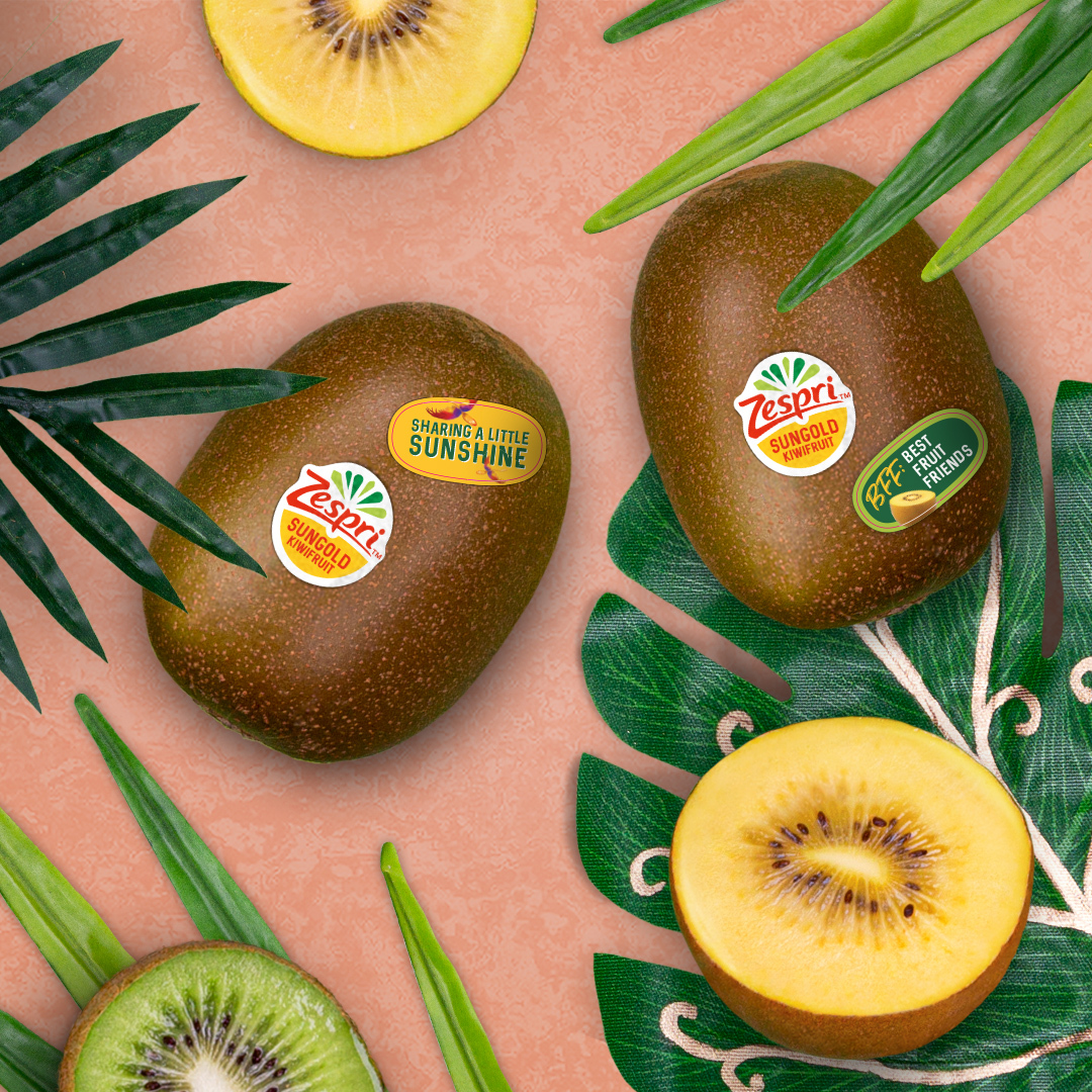 When you pick up your next pack of Zespri™ SunGold Kiwifruit, look for a little sticker surprise inside. Stick a message on a golden kiwi and share with a friend to brighten their day with tropical flavor and rich vitamin C. https://t.co/A8GQAPzwo2