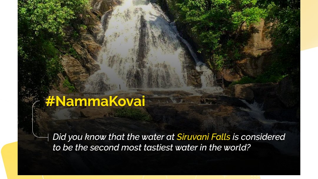 Siruvani Falls - the Sweet Pride of Coimbatore!  Did you know this beautiful fact about #nammakovai?   #KiscolGrands #EmpireRestaurant #BesthotelsinCoimbatore #Coimbatorehotels #Comfortable #Luxury #Coimbatorepic.twitter.com/3OZS0dm2vl