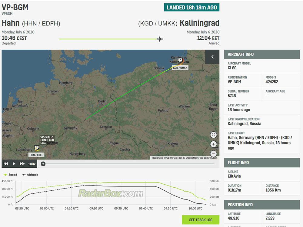 Вчера в Калининград прилетел Челленджер VP-BGM : Фарнборо-Франкфурт-Храброво #bizjets #VPBGM (всё ещё стоит в KGD) https://t.co/zhoWVSxGLM