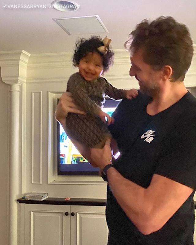 Pau Gasol spending time with Kobe's daughters is so heartwarming. (via vanessabryant/Instagram)