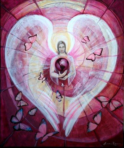 MARTES   Te pedimos Divino Arcangel Chamuel ! Que envuelvas con tu Luz rosa a nuestra Tierra bendita y la llenes de Amor hasta su ASCENSION ! Amen ! https://t.co/Jogn8urdje