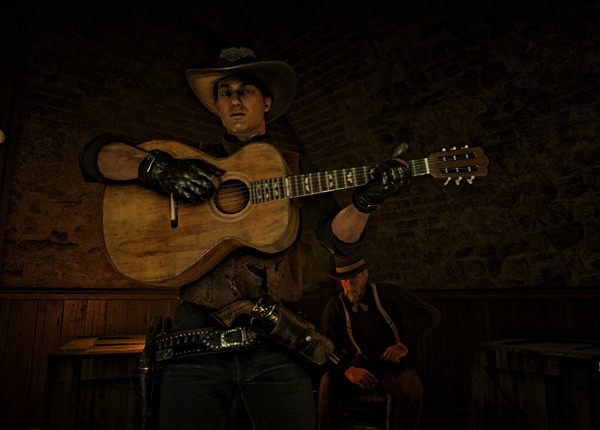 Young Country singer Lorenzo theme   Tap to expand   #LorenzoCortez #RDR2 #RedDeadOnline pic.twitter.com/p2QteYtr6C