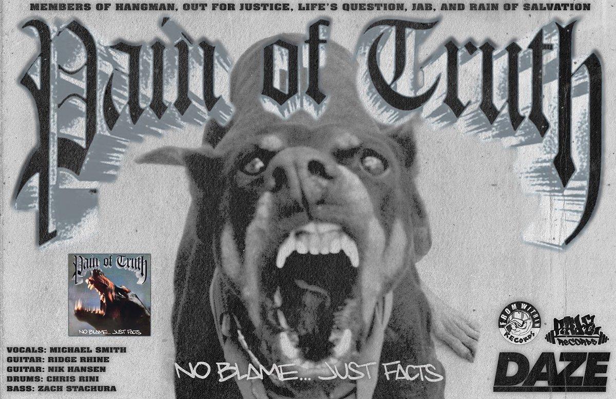 poster for new northeast HC band PAIN OF TRUTH 🎯 https://t.co/yKvVCIKk8r