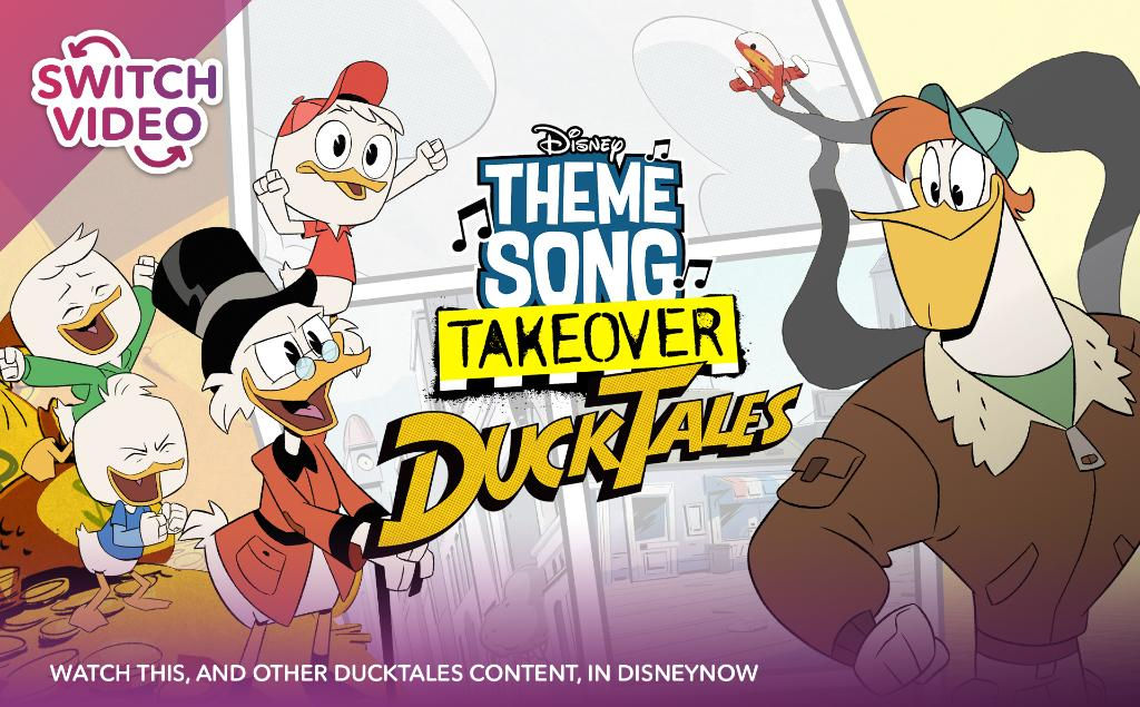 DuckTales, woo-oo! Switch it up and control the combinations of the #DuckTales Theme Song in #DisneyNOW