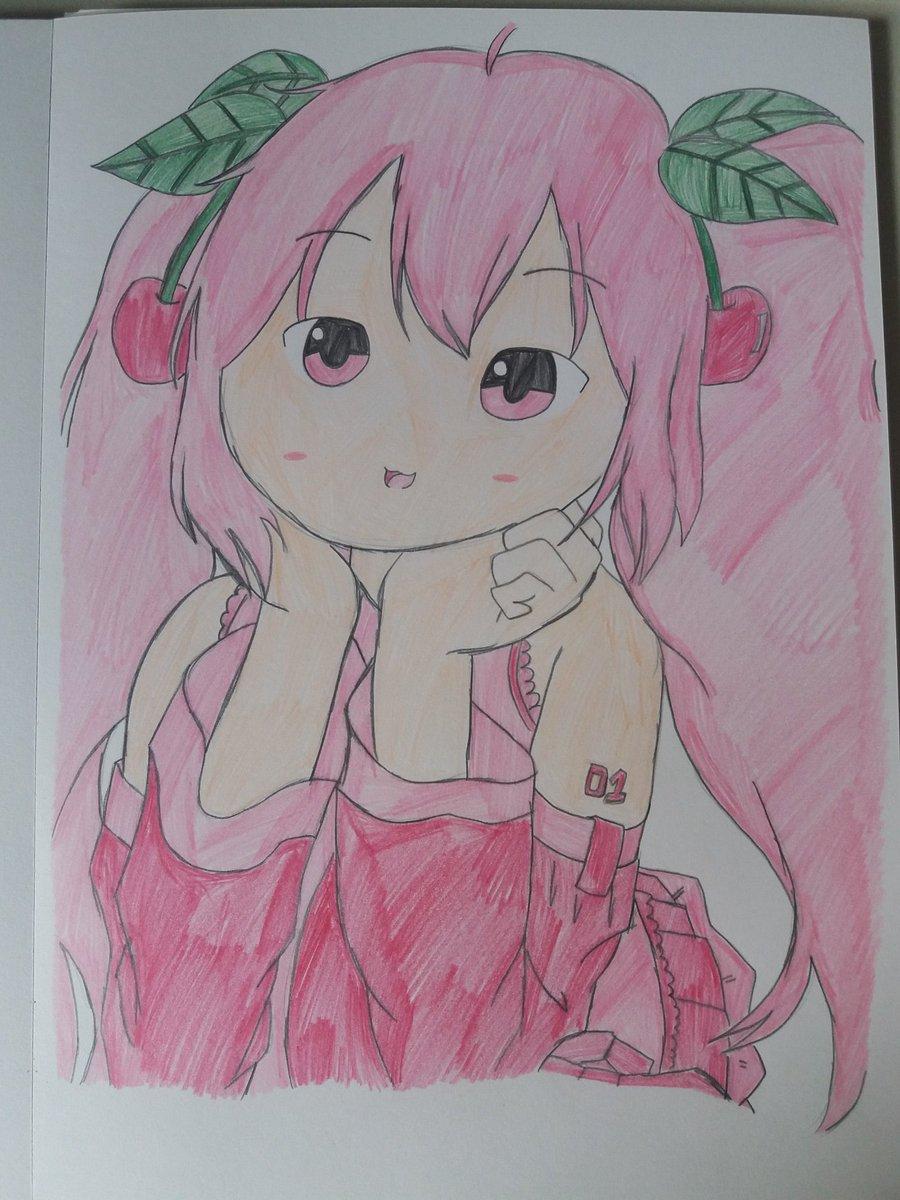 Sakura Miku fanart  #hatsunemiku #mikuhatsune #sakuramiku #vocaloid #anime #drawing #draw #pencil #pencildrawing #pencilart #pencilsketch #art #myart #mydrawing #fanart #sketch #sketchbook #traditionalart #traditionaldrawing #coloredpencil #fabercastellpic.twitter.com/QgiMVMo19m
