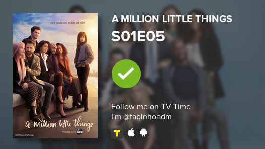 I've just watched episode S01E05 of A Million Little...! #amillionlittlethings  #tvtime https://t.co/zuYnGY8BgI https://t.co/RQJ64DgPHt
