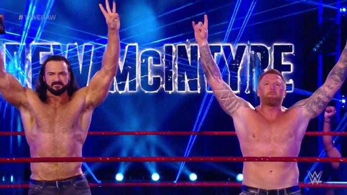 Heath Slater confronta Drew McIntyre em seu retorno ao RAW