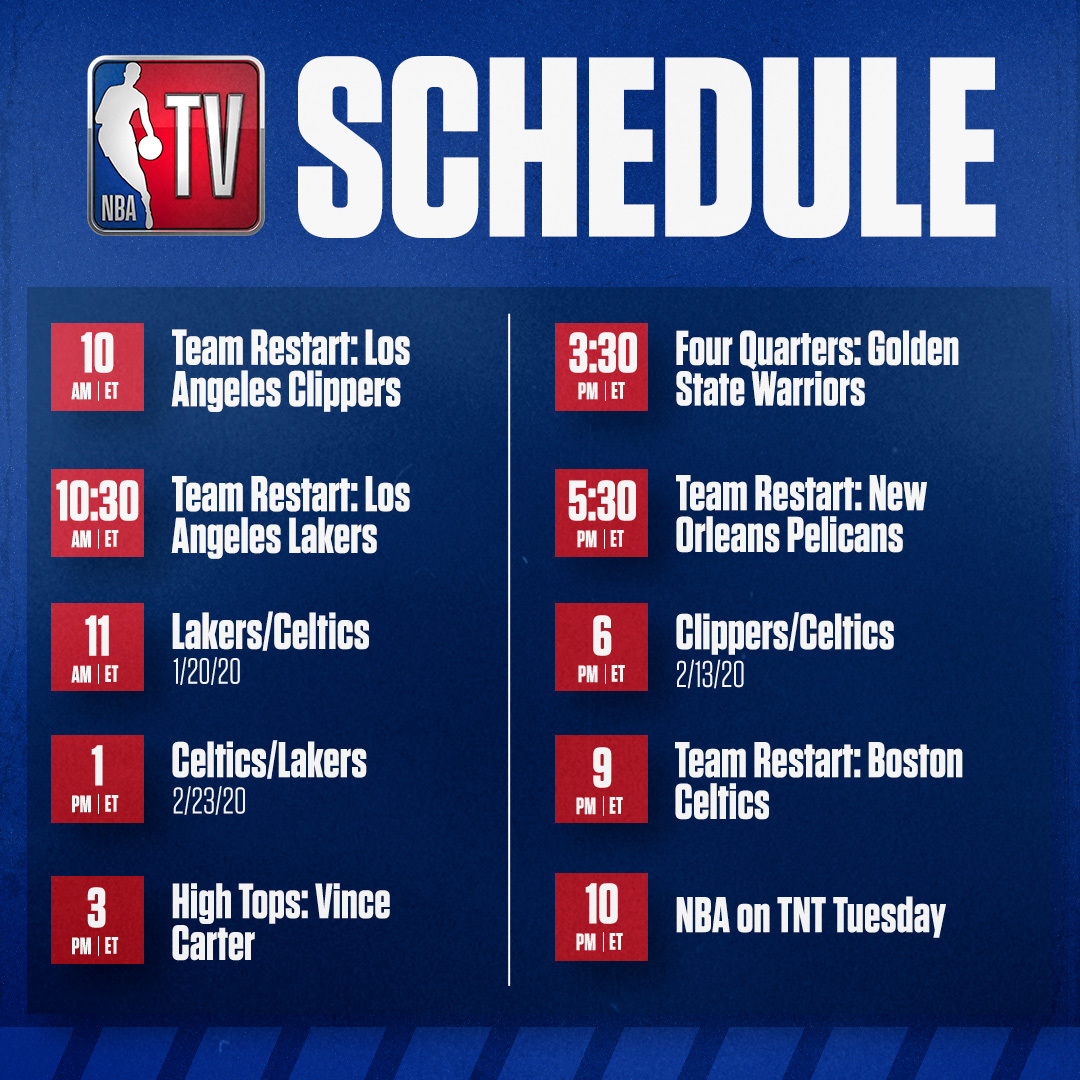 It's a big Tuesday on NBA TV! 🔥 https://t.co/WbBmpuJ8wm