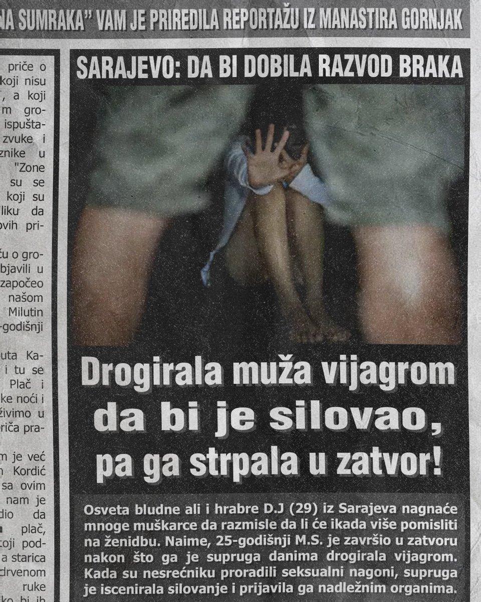 Drogirala muža vijagrom da bi je silovao, pa ga strpala u zatvor