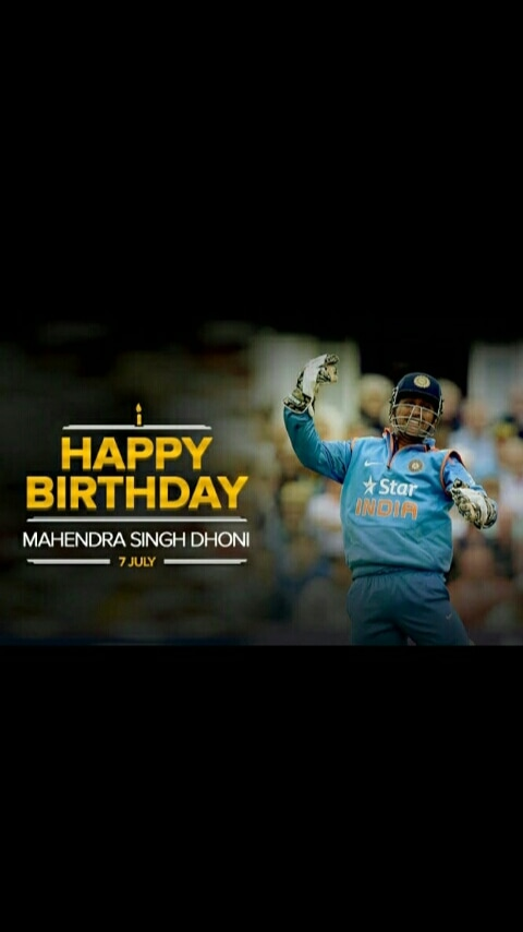 Wish you many more happy returns of the day #realhero  #love you #HappyBirthdayDhonipic.twitter.com/SXDlsElJ8u