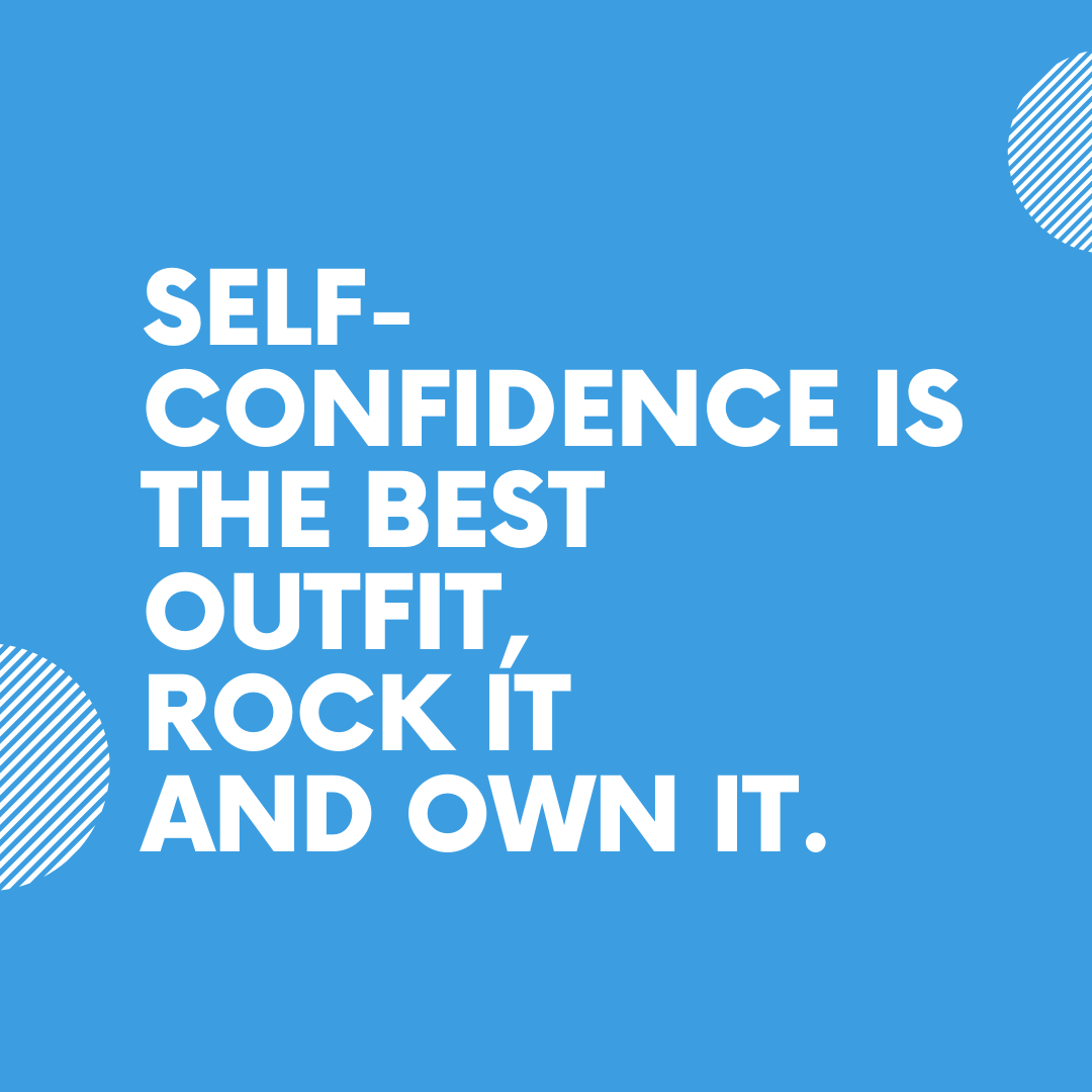 Self-confidence is the best outfit, rock it and own it.  #ambition #ambitious #beyondlimits #consistencymatters #critics #criticize #selfconfidence #ad #advertising #facebookmarketing #facebookads #facebookadvertising #vincentleovaldezpic.twitter.com/092mcQNY0F