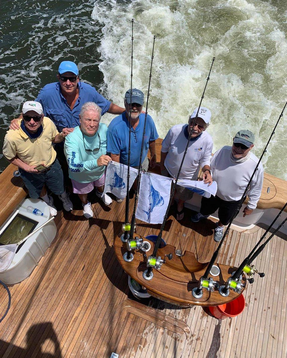 Stuart, FL - Unbelievable released 3 Sailfish.