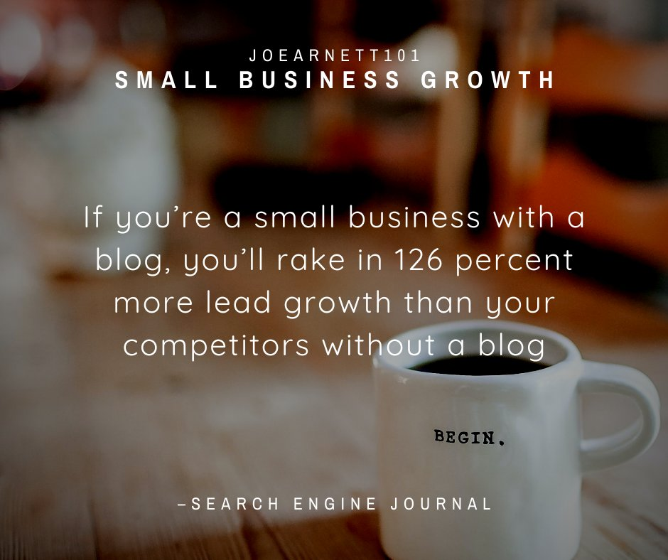 Your Daily Internet Marketing Tip! Do you have a Small Business, if so then listen up.  #SelfConfidence #JoeArnett101 #DigitalMarketingTips #ContentMarketing #SocialMediaMarketing #DigitalMarketer #Entrepreneur #HomeBusinesspic.twitter.com/OpKsqX3lU5
