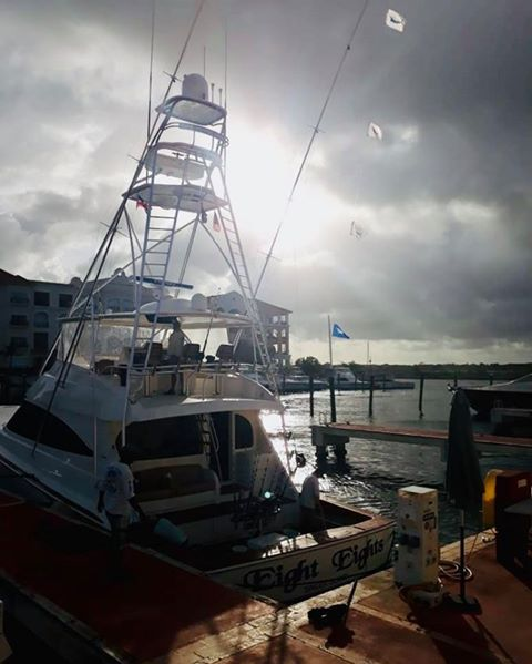 Cap Cana, DR - Eight Eight's went 3-3 on Blue Marlin and 1-1 on White Marlin.