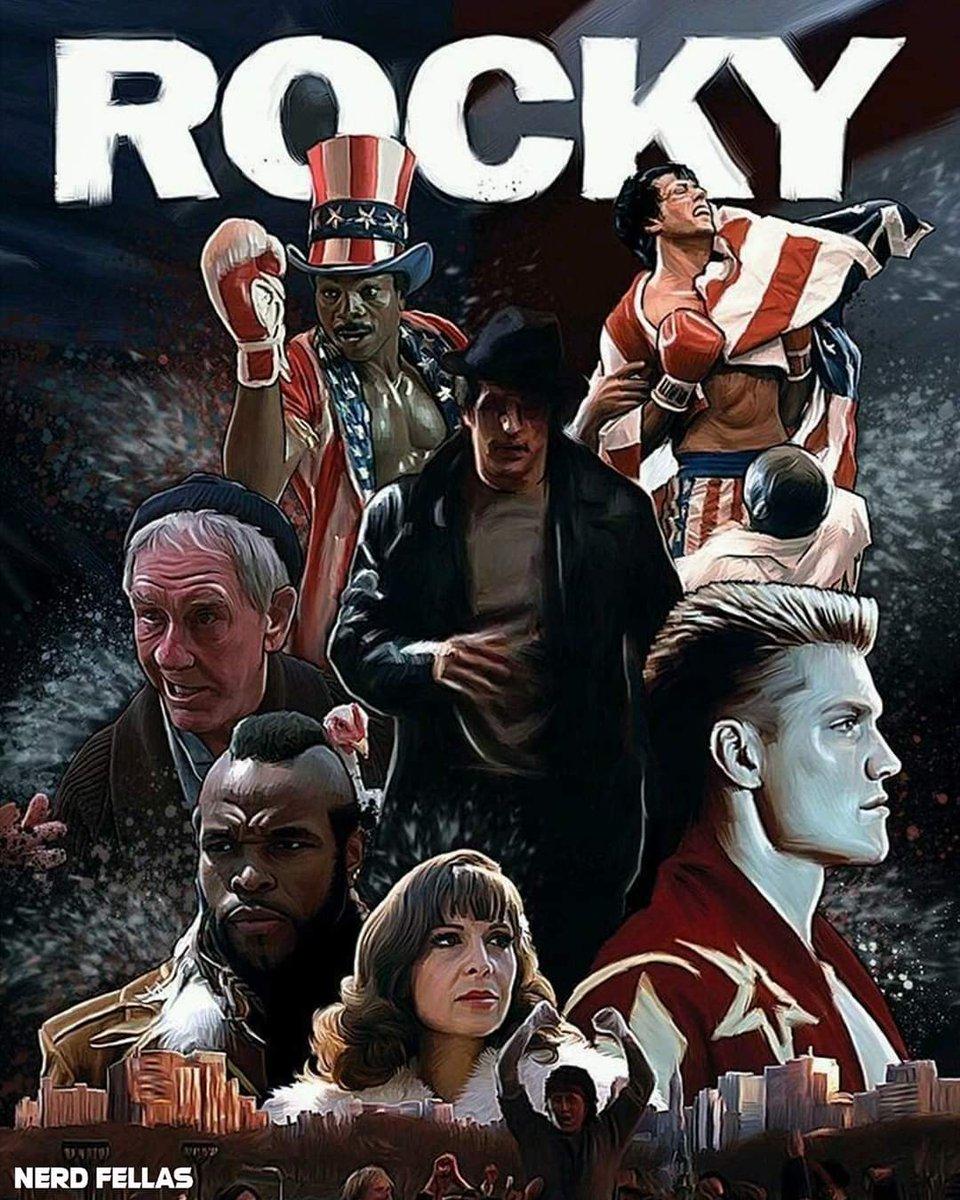 Rocky IV pode ganhar versão do diretor, segundo Stallone  Em uma publicação feita no Instagram Stallone disse que a versão do diretor deRocky IVque já está sendo feita.  #rockyumlutador #RockyBalboa #gonnaflynow #SilvesterStallone #rambo #diretor #Cinema #nerdfellas #filmes