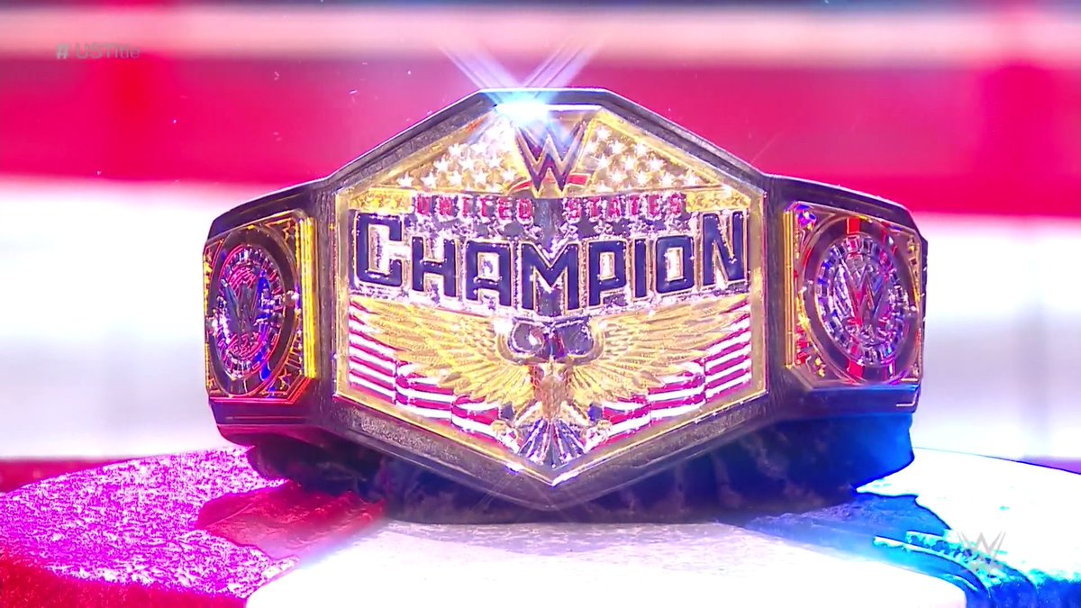 That's a beauty.     @The305MVP has unveiled a NEW #USTitle on #WWERaw , claiming that he IS the new champion after defeating @WWEApollo last week!<br>http://pic.twitter.com/GzyOzS9vUQ