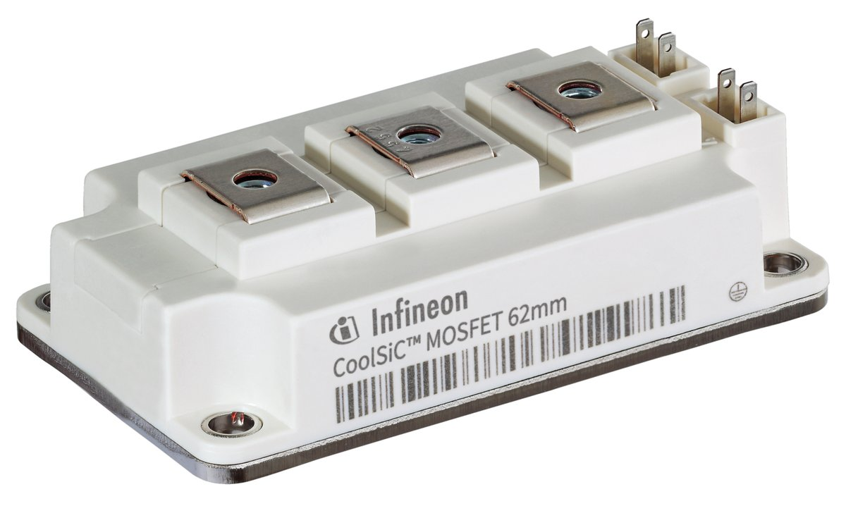 . @Infineon Technologies has added another industry standard package to its CoolSiC MOSFET 1,200V module family👉 https://t.co/Mw9MkyKc4O https://t.co/1PKvGJGusG