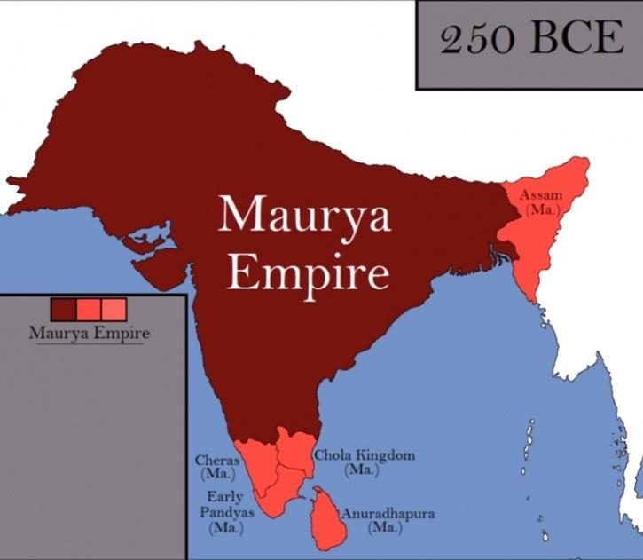 "Nonsense. Megasthenes, was a Greek ambassador to the Mauryan court. He wrote a work called ""Indika"" Ἰνδικά in the 3rd-4th century BCE  ""India which is in shape quadrilateral, has it's eastern & western side bounded by the great sea""  India existed 2200 yrs before the British https://t.co/xcbek33RrC https://t.co/DAKqRMnHIl"