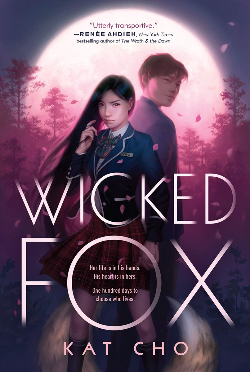 Usually I'm bad at self promo, but today I'm just gonna do it. If you want a YA romance with Korean characters who don't self-hate, then my debut WICKED FOX is an angsty K-drama inspired paranormal romance. Also lots of food (sequel out 8.18!) #WickedFox  https:// bookshop.org/books/wicked-f ox/9781984812346  … <br>http://pic.twitter.com/UJTausrvOp