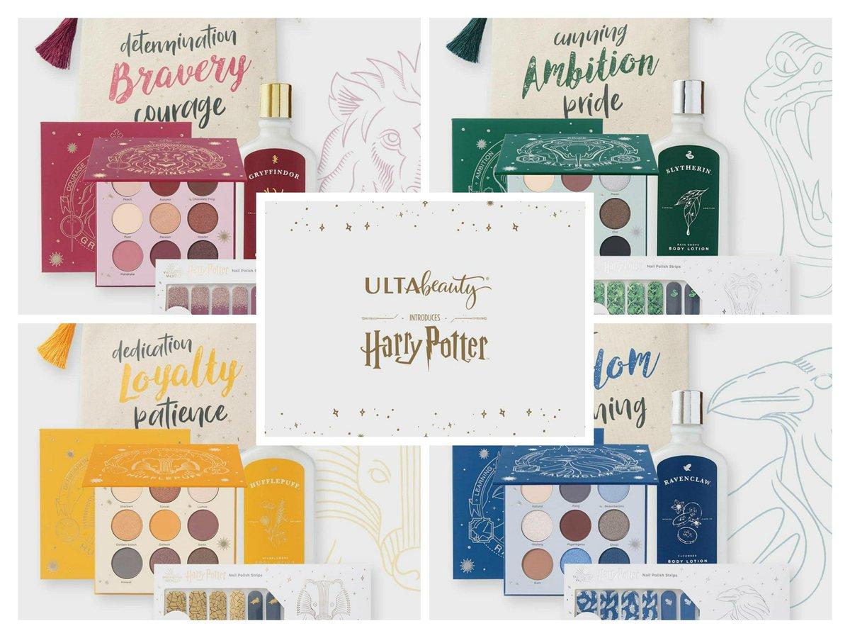 Harry Potter x Ulta Beauty แบรนด์เครื่องสำอางชื่อดัง  ออก Collection ใหม่ล่าสุด ทั้งเครื่องสำอาง ผลิตภัณฑ์บำรุงเล็บ บำรุงผิว และอื่นๆอีกมากมาย  ที่ได้รับแรงบันดาลใจมาจากบ้านทั้ง 4  ในโรงเรียนฮอกวอตส์  #แฮร์รี่พอตเตอร์ https://t.co/pdA5OlGHa3