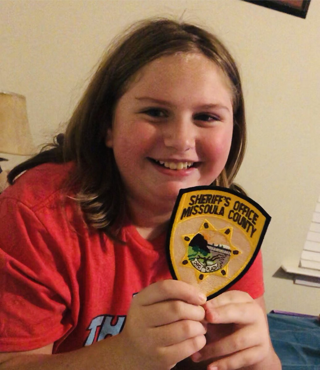 @Bill_Burt_409 Huge Thank you for the patch! She loves this!!! Future K9 Officer