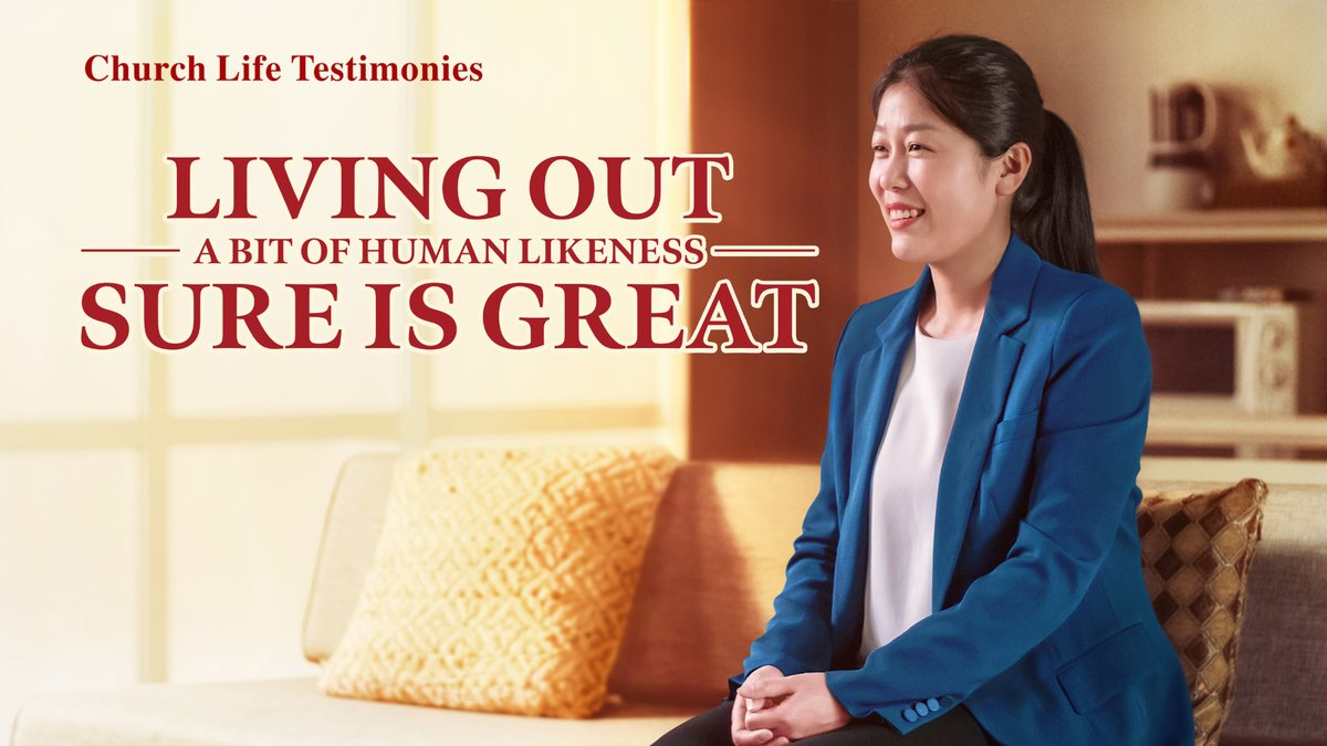 "I am deeply shocked by the power and authority of the Creator, and I really thank God! Only truth can change people. 2020 Christian Testimony Video | ""Living Out a Bit of Human Likeness Sure Is Great"" (English Dubbed)   https://www. youtube.com/watch?v=BSL4MU kt0Gg&feature=youtu.be   …   #voiceofGod <br>http://pic.twitter.com/extWQHIkqw"