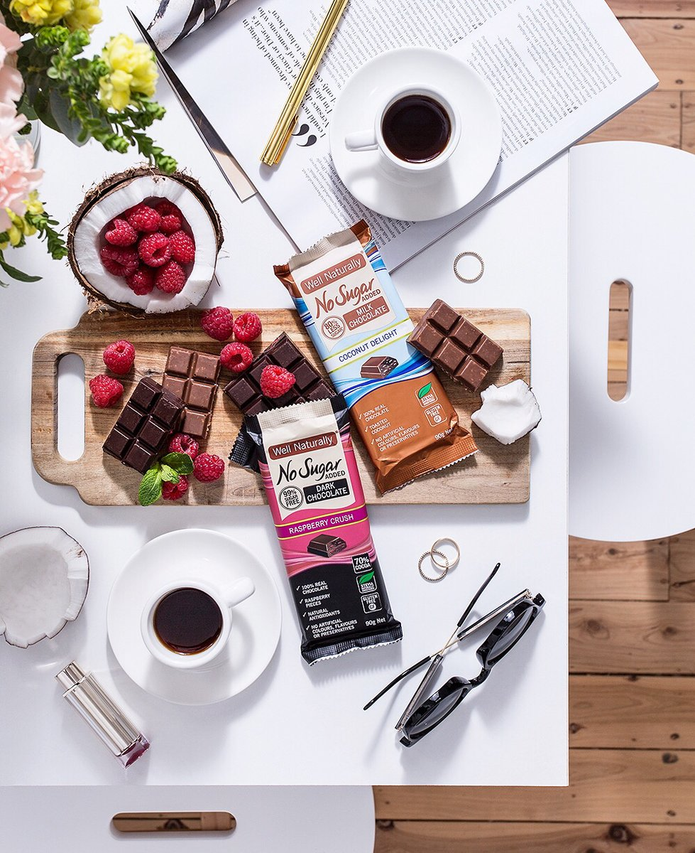 Happy #WorldChocolateDay 🍫  The most delicious day of the year! No better way to celebrate than to have your favourite chocolate treat for dessert   A beautifully organised flatlay by whatshepictures for Well Naturally AU   #HappyWorldChocolateDay #ChocolateDay https://t.co/bRM6NcVWXV