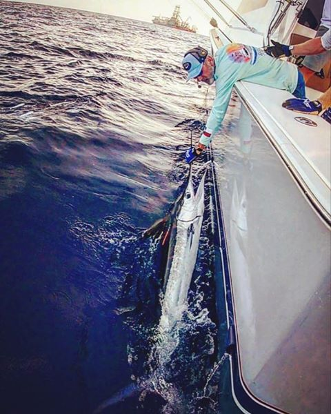 Rockport, TX - Sarco went 2-2 on White Marlin.