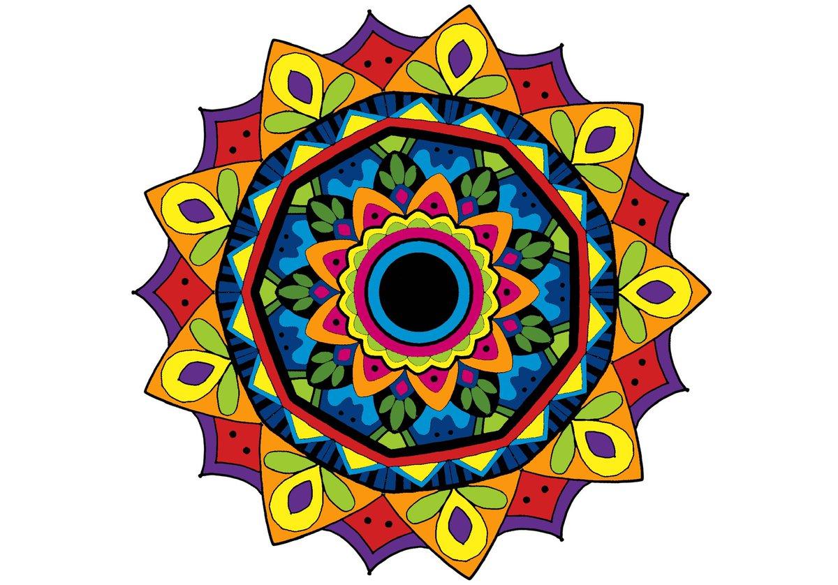 ipadで曼陀羅を描いてみた #mandara  #ipadpro  #曼陀羅  #colorful  #カラフル曼陀羅  #art #絵描きさんと繋がりたい #落書きアート  #イラスト  #曼陀羅アート https://t.co/9kCAf7XQkL