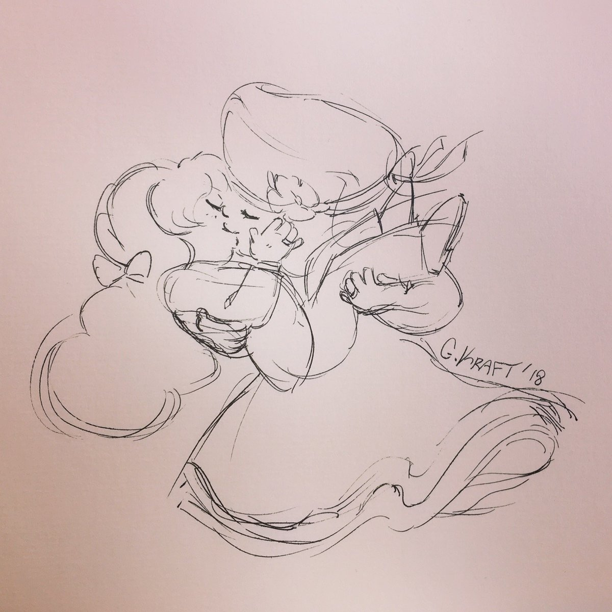 Reposting some older artwork for the Ruby and Sapphire wedding anniversary. The first sketch I did after the premiere and the second I used the same pose for my fusion series~ #StevenUniverse #Rupphire<br>http://pic.twitter.com/rNHe8pf8Rv