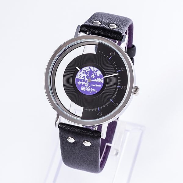 A watch inspired by Neku from our collab series with The World Ends with You: Final Remix! The center is shaped like a vinyl record and a portion of the watch face is transparent, representing UG and RG! #TWEWY  Check it out  http:// super-groupies.com/product/6882?u tm_source=twi_global&utm_medium=social&utm_campaign=20200707subarashiki  … <br>http://pic.twitter.com/30syKLPyHh