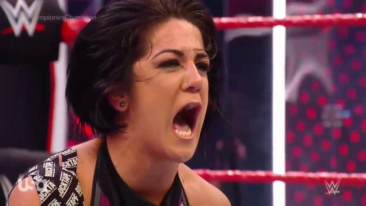 Oh, she mad. #WWERaw  <br>http://pic.twitter.com/taBLr98zja