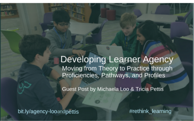 Guest Post: Developing Learner Agency by the Team Teaching Sisters. Follow @MichaelaMLoo & @triciapettis10     An awesome journey taking the #personalizedlearning theory to practice. Pls RT, tag friends! #rethink_learning #edchat #teachpos #formativechat