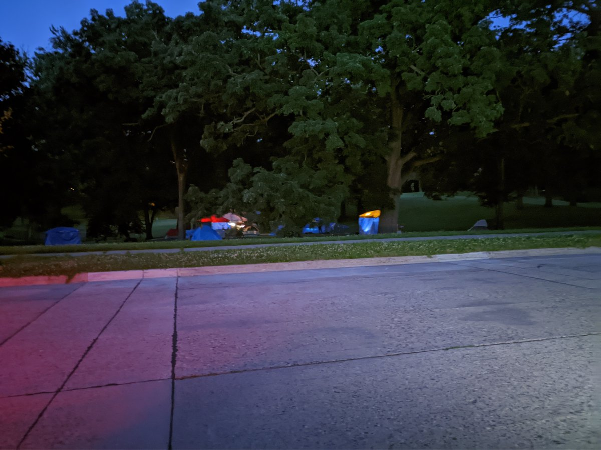 Kenwood Park After Dark - Sound like a late night movie?  Well @Jacob_Frey - this is the park in my neighborhood in Minneapolis.  It has been taken over by homeless people.  What a mess you have created of our city. https://t.co/V4Df2jYLIw