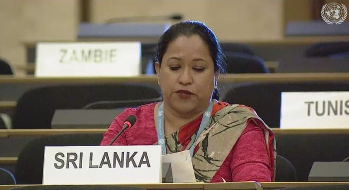 STATEMENT BY THE DEMOCRATIC SOCIALIST REPUBLIC OF SRI LANKA 44TH SESSION OF THE HUMAN RIGHTS COUNCIL AGENDA ITEM 3: INTERACTIVE DIALOGUE WITH SPECIAL RAPPORTEUR ON THE HUMAN RIGHTS OF MIGRANTS 06 JULY 2020